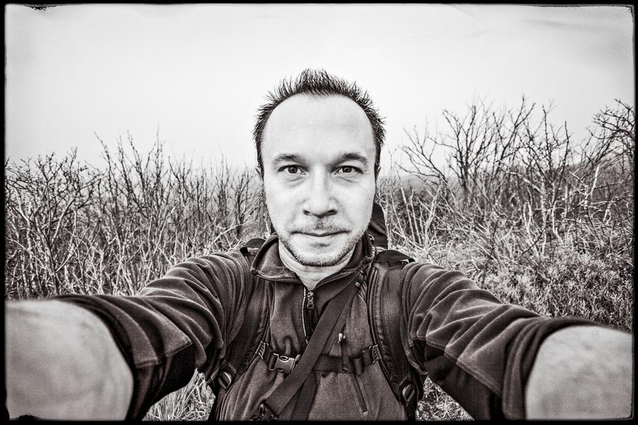 autoportret Dariusz Śliwiński